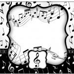 Marmita Pequena Notas Musicais