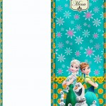 Menu Frozen Fever