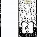 Menu Notas Musicais