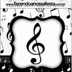 Mini Pastilha Docile Notas Musicais