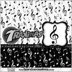 Mini Trakinas Notas Musicais