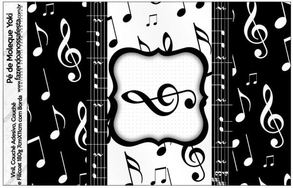 Pé de Moleque Yoki Notas Musicais