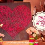 Coração de Fio para Dia das Mães – PAP