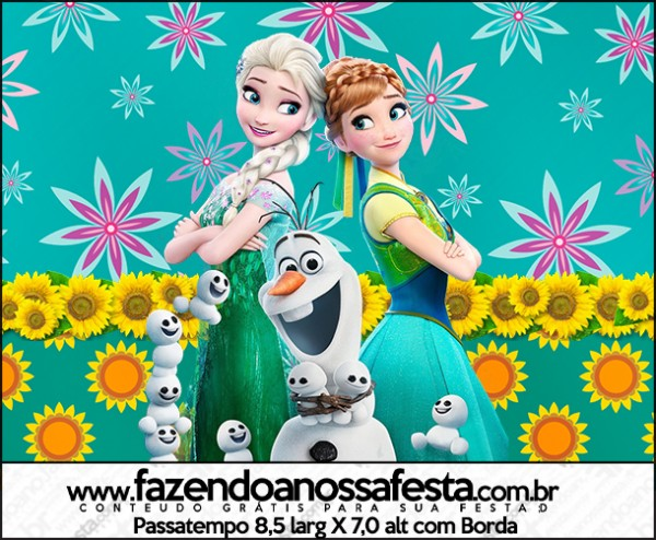 Passatempo Frozen Fever