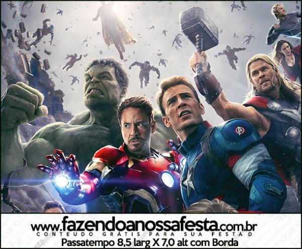Passatempo Os Vingadores 2