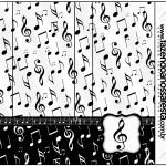 Pirulito Mastigável Notas Musicais