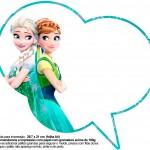 Plaquinhas Divertidas Frozen Fever 27