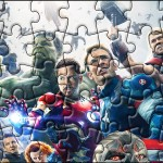 Quebra-cabeça Os Vingadores 2