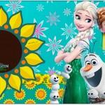 Rótulo Caixa Bombom Frozen Fever