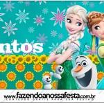 Rótulo Mentos Frozen Fever