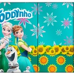Rótulo Toddynho Frozen Fever