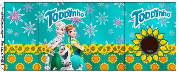 Rótulo Toddynho Frozen Fever
