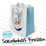 Sacolinha Lembrancinha Frozen – Pronto para Imprimir