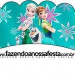 Saias Wrappers para Cupcakes 2 Frozen Fever