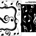 Saquinho de Chá Notas Musicais