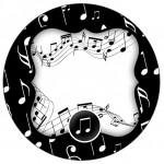 Tubetes, Latinhas e Toppers Notas Musicais