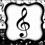 Tubetes Notas Musicais