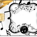 Vale Brinde Notas Musicais