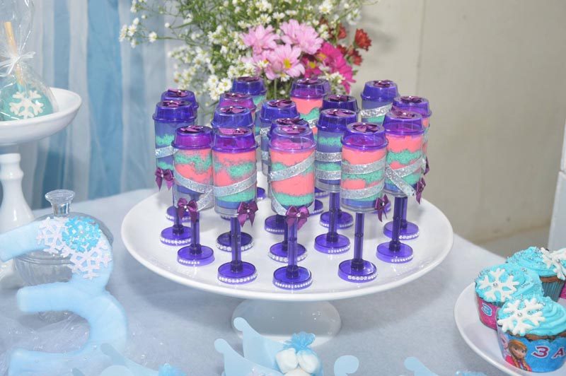 Festa Frozen Criativa - Push Cake Pop