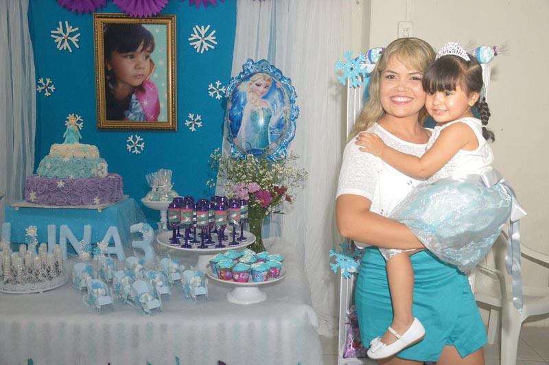 Festa Frozen Criativa - Mamãe e Luna