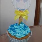 Cupcakes Batizado Anjinho Benjamin