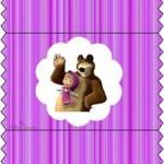 Bala Personalizada Masha e o Urso