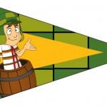 Bandeirinha Sanduiche 5 Chaves