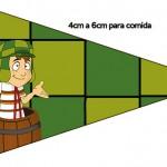 Bandeirinha Sanduiche 6 Chaves