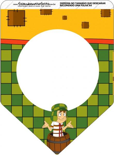 Bandeirinha Varalzinho Chaves