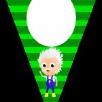 Bandeirinha Varalzinho A Turma do Seu Lobato