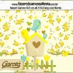 Batom Garoto Jardim Encantado Amarelo Provençal