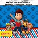 Batom Garoto Kit Patrulha Canina