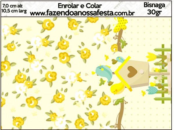 Bisnaga Brigadeiro Jardim Encantado Amarelo Provençal
