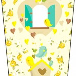 Bisnaga Flip Top Jardim Encantado Amarelo Provençal