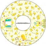 CD DVD Jardim Encantado Amarelo Provençal