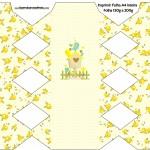 Caixa Bala Jardim Encantado Amarelo Provençal