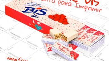 Caixa Bis Dia dos Namorados para Imprimir Grátis