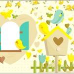 Caixa Bombom Jardim Encantado Amarelo Provençal