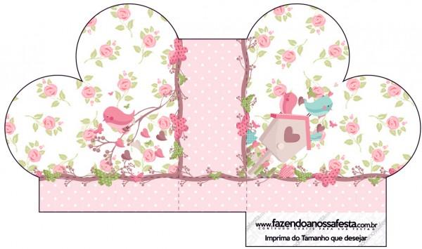Caixa Coração Jardim Encantado Provençal