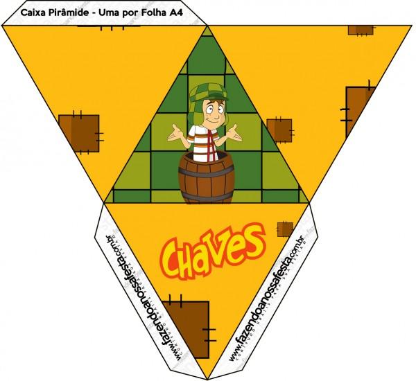 Caixa Pipoca Chaves