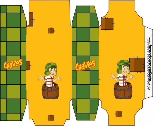 Caixa Sabonete Chaves