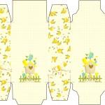 Caixa Sabonete Jardim Encantado Amarelo Provençal
