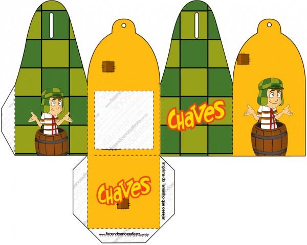 Caixa com Foto Chaves
