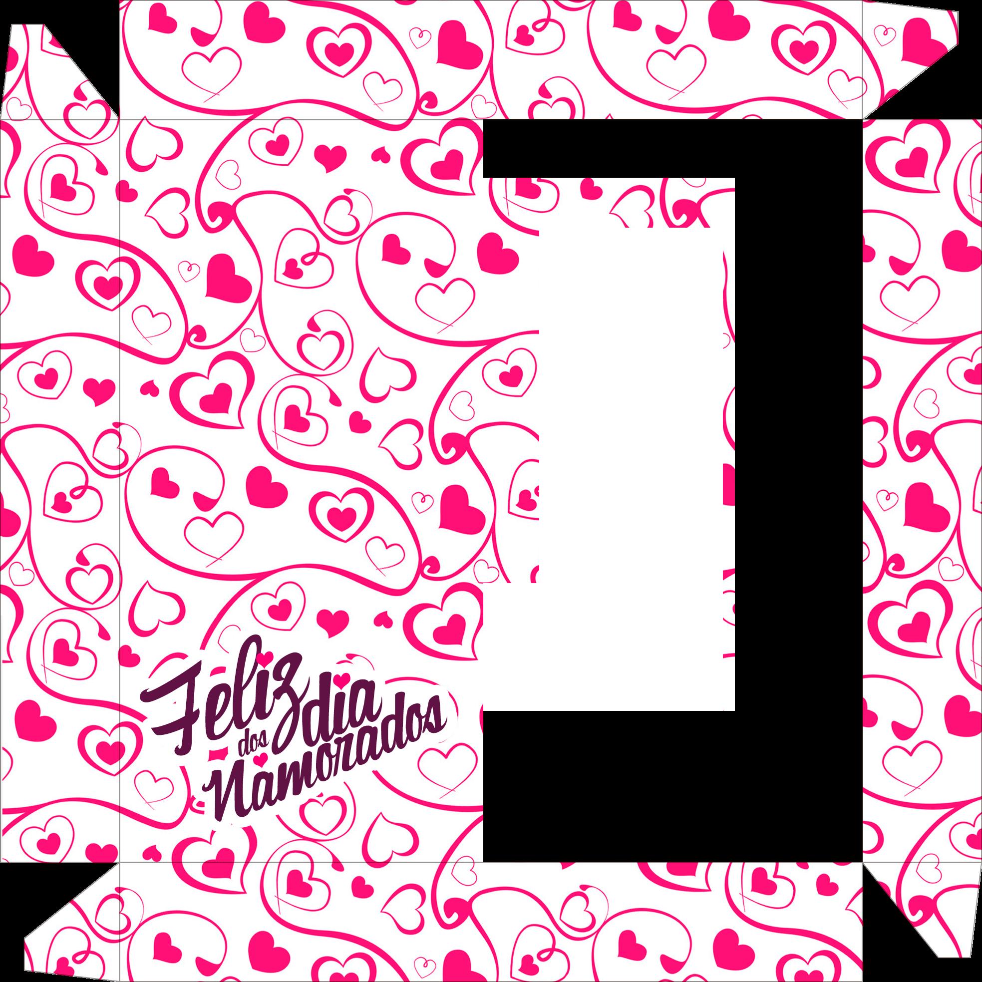 Caixa de Bombom Dia dos Namorados 5 - Parte de baixo