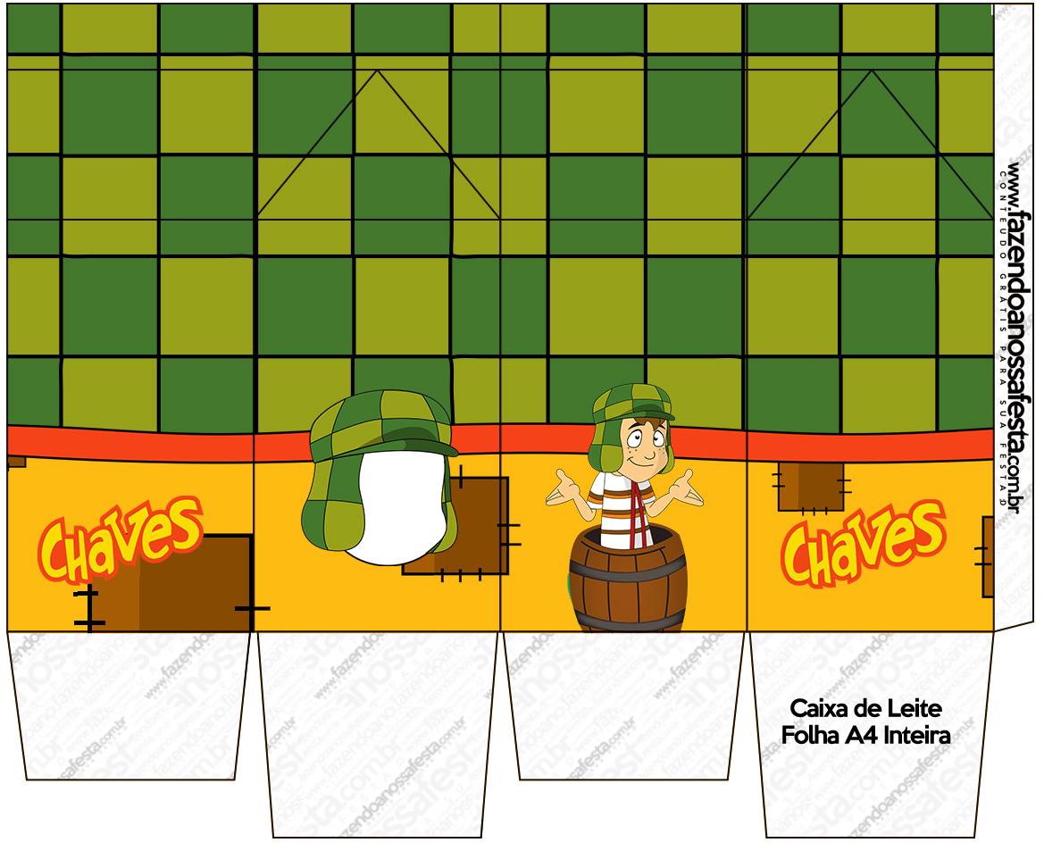 Caixa de Leite Chaves Fazendo a Nossa Festa #CA9401 1169x953