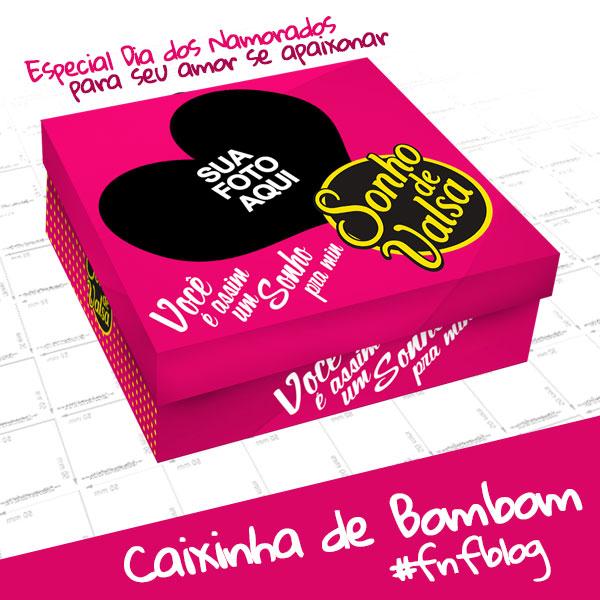 Caixa de Bombom Dia dos Namorados