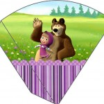 Cone Guloseimas Masha e o Urso