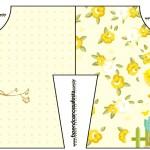 Convite Camisa Jardim Encantado Amarelo Provençal