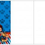 Convite, Cardápio ou Cronograma em Z Patrulha Canina