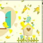 Convite Ingresso Jardim Encantado Amarelo Provençal
